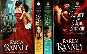 Karen Ranney    Clan Sinclair Series