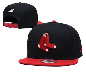 Mens Women MLB Embroidered Classic Flat Brim Hip Hop Cap Snap-back Sports Hat US