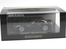 Minichamps 2016 BRABUS 600 for GT S black Resin 1/43 Mercedes-AMG Limitiert