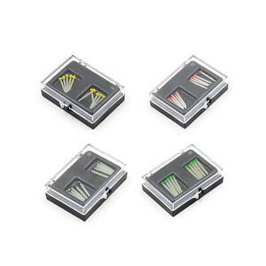 Dental Endo Straight Fiber Posts Tips Drill Thread Glass Files 1.2-1.8mm