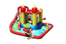 Duplay Jump and Splash 14ft Bouncy Castle with Waterslide & Water Cannon (9016)