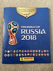 Panini Russia 2018 World Cup 100% Complete Full Sticker Album