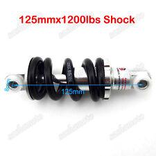 125mm 1200LBS Rear Shock Suspension For 2 Stroke Pocket Bike ATV Quad Scooter