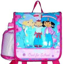 Strawberry Shortcake lunchbox backpack insulated Free Sports water bottle new