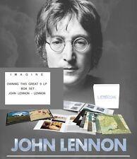 JOHN LENNON - 9 LP BOX - 180 GRAM HEAVYWEIGHT AUDIOPHILE VINYL  RemasteredFromHD