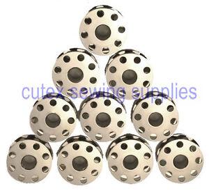 Bobbins For Juki DSC-244, DSC-245, DSU-142 Sewing Machine - 10 Pk Original