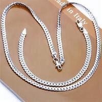 Wholesale 925Silver jewelry necklace pendant earrings ring bangle bracelet sets