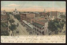 Postcard Tampa Florida/Fl Town Section Bird's Eye Aerial view 1906