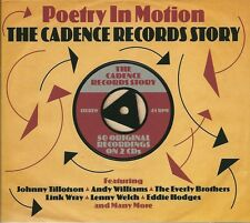 POETRY IN MOTION THE CADENCE RECORDS STORY 2 CD LINK WRAY EVERLY BROTHERS +MORE