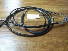 "Kawasaki 900 Z1 Cable kit +10"" Clutch Brake hose Throttle  NOS Made in Japan"
