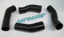 silicone turbo intercooler hose kits for Nissan 300ZX Z32  Black