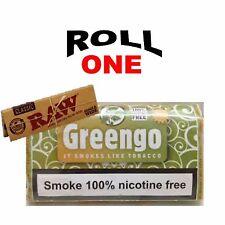 Greengo Tobacco Herbal Mixture 100% Nicotine Free + Raw Rolling Paper