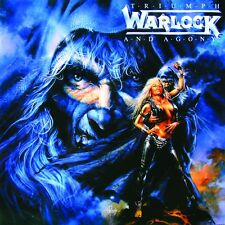 WARLOCK - TRIUMPH AND AGONY - CD NEW UNPLAYED 1987 GERMANY - DORO