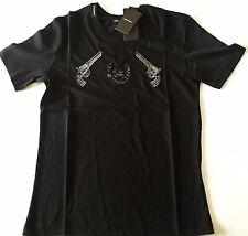 BRANDNEU Herren Dolce & GABBANA T-Shirt Gun Jazz d&g Größe M 100% Baumwolle Musik