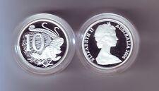 2006 SILVER Proof 10 Cent Lyrebird Coin Australia ex Fine Silver Set