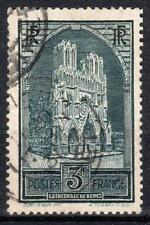 "FRANCE STAMP TIMBRE N° 259 b "" CATHEDRALE REIMS 3F TYPE III "" OBLITERE TB  M539"