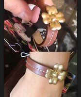 ❤️❤️❤️ My Favourites Leather Bracelet Brand New + Mimco Dust Bag