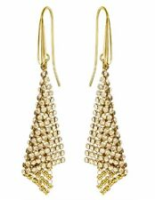 Swarovski Fit Small Pierced Earrings, Gold-plated Crystal Authentic MIB 5143060