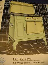 1934 Roberts & Mander Stove Co. Art Deco Catalog Asbestos Quality Gas Ranges