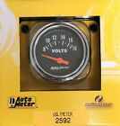 Auto Meter 2592 Traditional Chrome Voltmeter Gauge 2 116 52 Mm 8 - 18 Volts