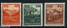 Liechtenstein Freimarken Burgen 1933** (S4979)