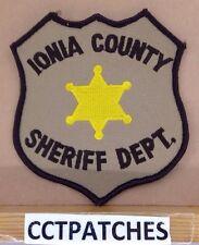 IONIA COUNTY, MICHIGAN SHERIFF (POLICE) TAN SHOULDER PATCH MI