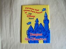 Vintage Purchase Your Theme Park Passes At The Disney Store Pinback