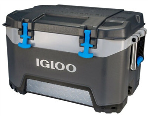 NEW Igloo 49783 HEAVY DUTY BMX Chest Cooler, 50 Quart, Gray 4797858