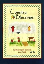 Country Blessings by Honor Books 2000 Hardcover ~ wonderful GIFT idea!