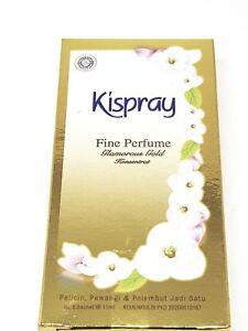 Balinese Spray 4 x 11ML Kispray Gold Bali Ironing Deodorizer & Freeby FREE POST