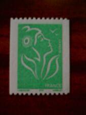 France num Yvert 3742 ** MNH Année 2005 Marianne de Lamouche Roulette vert ITVF