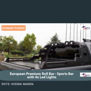 NISSAN NAVARA Sports Bar - Sports Bar with 4X Lights for NAVARA
