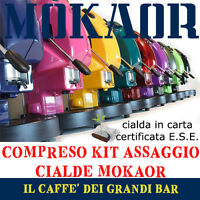 Macchina caffè Didiesse Frog Revolution 2017 44mm + kit 15 cialde MOKAOR omaggio