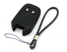 Black Silicone Case Cover For Isuzu MU-X D-MAX DMAX Remote Smart Key ISU2SMBK