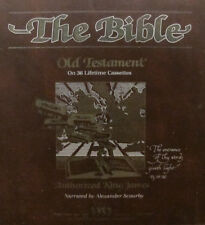 The Bible Complete Old Testaments On 36 Cassettes Alexander Scourby