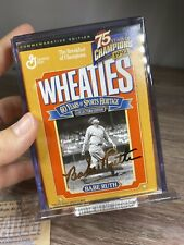 """VINTAGE 1992 WHEATIES 75 YEARS OF CHAMPIONS """"BABE RUTH"""" COMMEMORATIVE EDITION AC"""