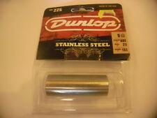 DUNLOP 225 Bottleneck stainless steel- en acier inox- Ring size: 9-NEW