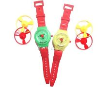 6 x Flying Disc Launcher Watches - Boys Party Bag Fillers