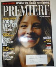 Premiere Magazine Jodie Foster & Christina Applegate March 2002 031015R