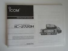Icom - 2720 H (Authentique imprimé Manuel d'instructions uniquement)... radio _ Trader _ Irlande.