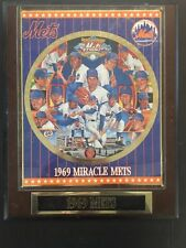 1969 New York Miracle Mets Plaque Sports Impressions E46