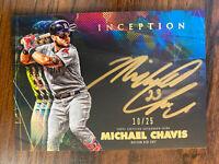 Michael Chavis 2020 Topps Inception Auto /25 Rookie RC Boston Red Sox Autograph