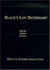 Black's Law Dictionary: Deluxe Thumb-Index (Legal Dictionary) by Garner, Brya…