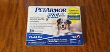 Pet Armor Plus for Dogs 23-44 lbs 3 applications