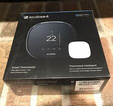 Ecobee 4 Smart thermostat Wi-fi with room sensor - New