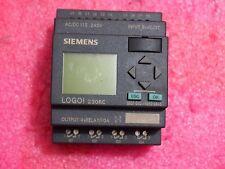 Siemens LOGO! 230RC programmable controller 6ED1 052-1FB00-0BA5 and good