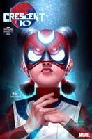 FUTURE FIGHT FIRSTS CRESCENT & IO #1 - MARVEL COMICS- M078