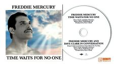 FREDDIE MERCURY TIME WAITS FOR NO ONE CD SINGLE vinyl picture disc queen poster