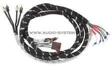Audio Système hlac4 5m 4 canaux high-low-adapter-cable