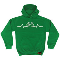 Bicycle Pulse RLTW HOODIE hoody cyclist cycling bicycle birthday funny gift